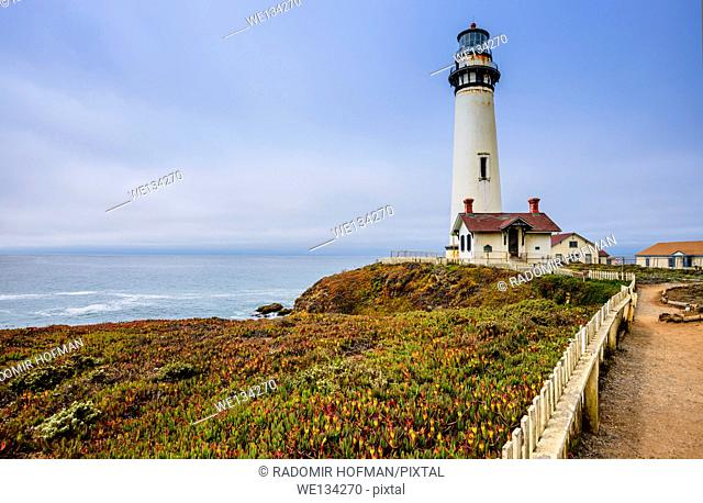 Pigeon Lighthouse, Northern California coast