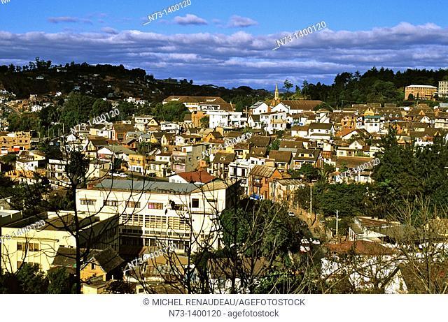 Africa, Madagascar, The Highlands, Antananarivo Tananarive