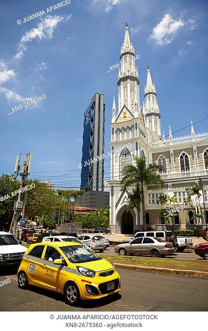El Carmen Church, Panama City, Republic of Panama, Central America