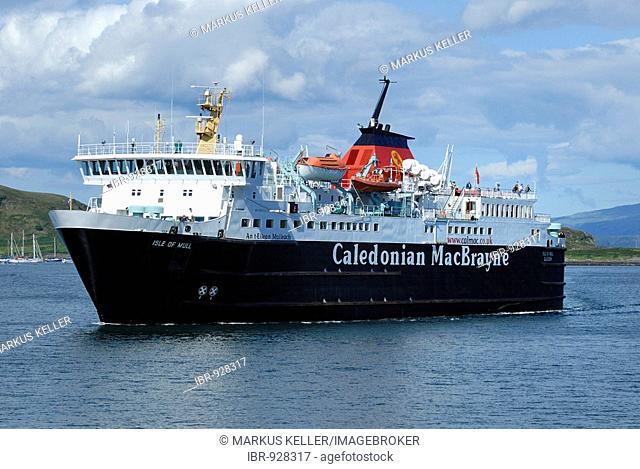 Oban ferry, Isle of Mull, Scotland, Great Britain, Europe