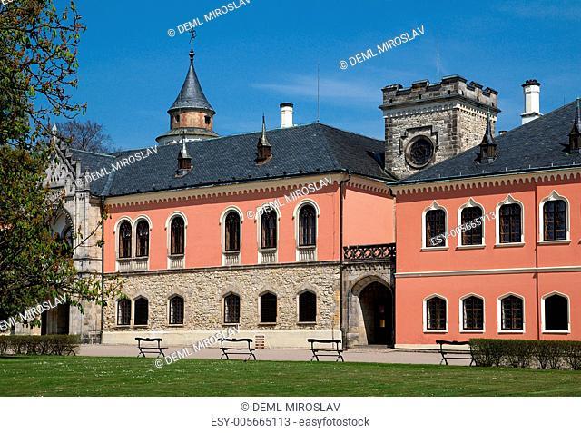 Czech Republic, castle Sychrov
