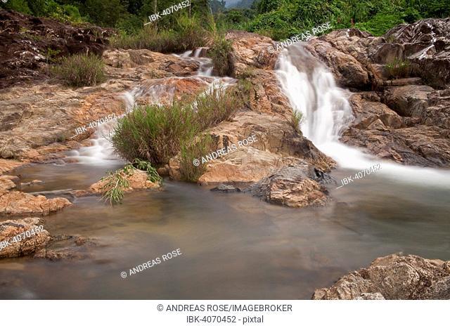 Yang Bay waterfall, near Nha Trang, South Vietnam, Vietnam