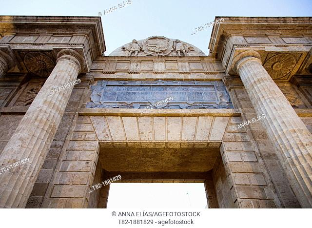 Arco de San Rafael, Cordoba, Andalucia, Spain
