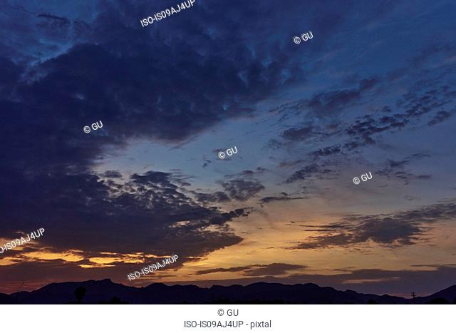 Sunset over Alcudia, Majorca, Spain