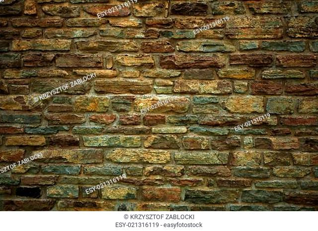 Background of old brick or stone wall texture