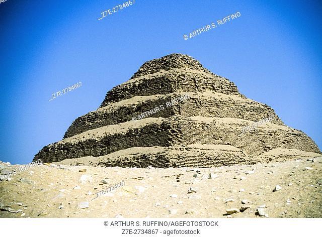 Step Pyramid of Djoser, Sakkara (Saqqara), Egypt