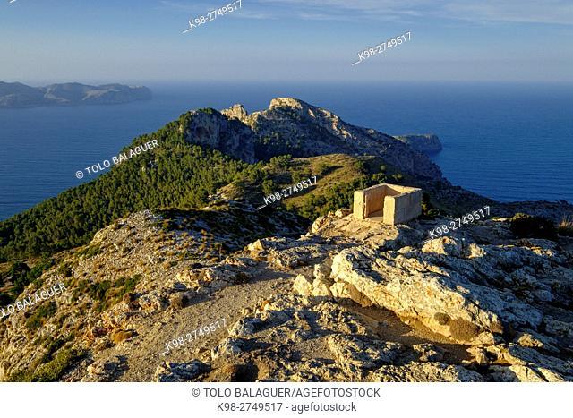 Sa Talaia, a 446 metros , Alcudia, Majorca, Balearic Islands, Spain