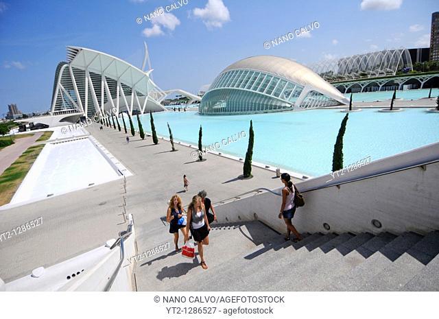 The City of Arts and Sciences - Ciudad de las Artes y las Ciencias - is a unique complex devoted to scientific and cultural dissemination  Designed by Santiago...