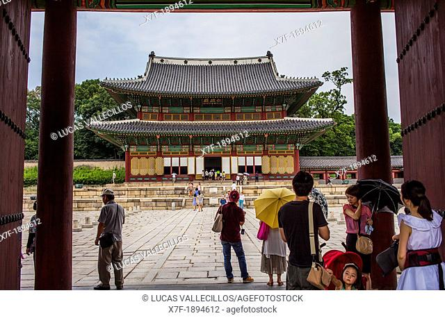 Changgyeonggung Palace, Jongno-gu, Seoul, South Korea