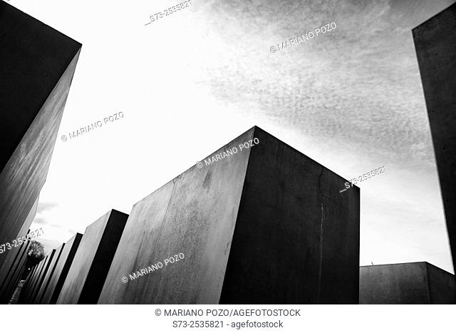 Holocaust memorial by Peter Eisenman, Berlin, Germany