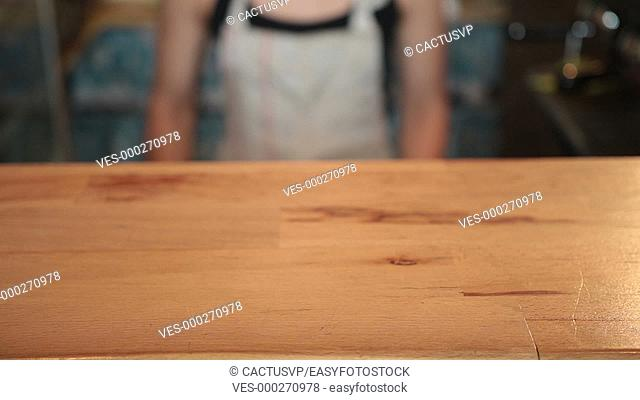 Close up view of vegetables on cutting board