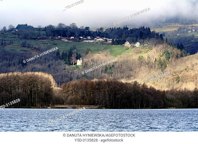 Parc Naturel Regional des Volcans d'Auvergne, Auvergne Volcanoes Natural Regional Park, Chambon sur Lac, Puy-de-Dôme, Issoire, Auvergne, Auvergne-Rhône-Alpes
