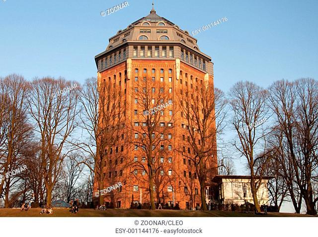 Hamburg, Germany, Moevenpick Hotel in Old Water Tower