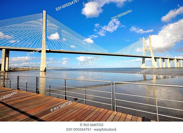Vasca da Gama Bridge