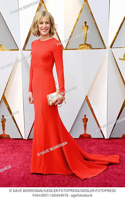 Christine Lahti attending the 90th Annual Academy Awards at Hollywood & Highland Center on March 4, 2018 in Hollywood, California. | usage worldwide