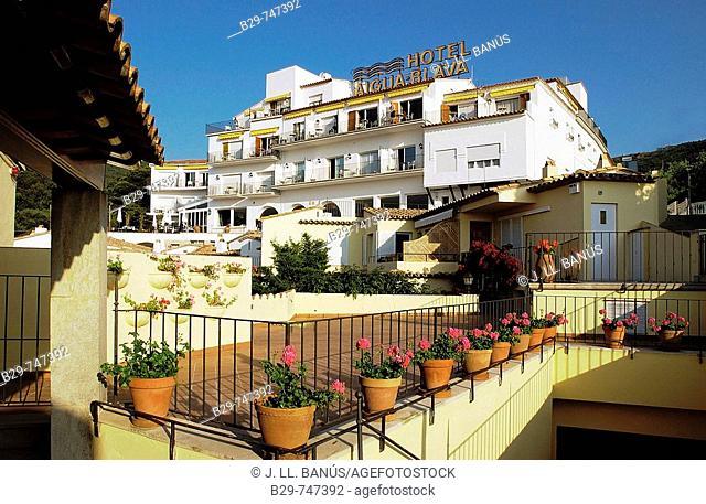 Hotel Aiguablava. Costa Brava, Girona province, Catalonia, Spain
