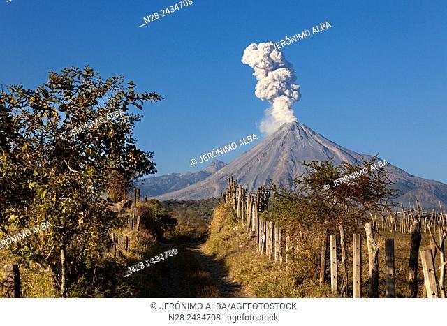 Volcano of Fire. Colima, Mexico