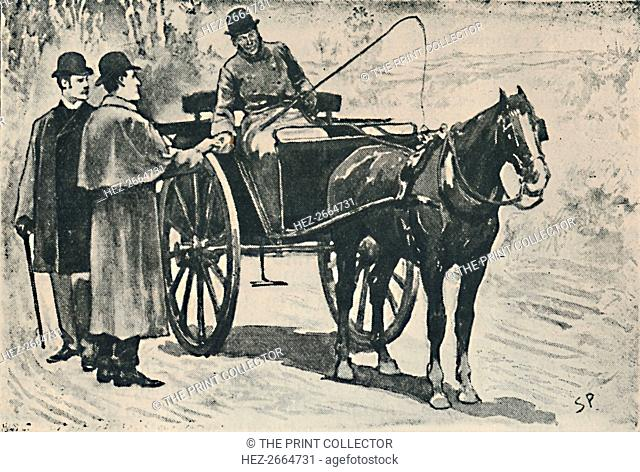 'We Got Off, Paid Our Fare.', 1892. Artist: Sidney E Paget