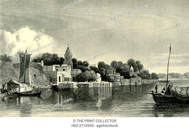 'Cawnpore - Lord Roberts's Birthplace', 1820s, (1901). Creator: Unknown
