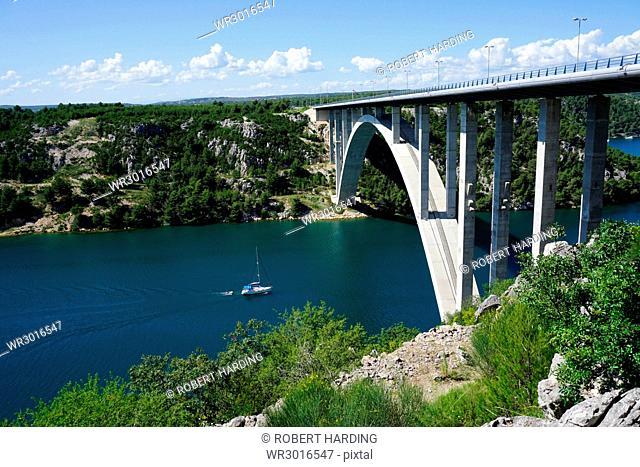 Most Krka, Croatia, Europe
