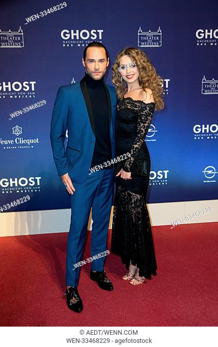 "Premiere of """"Ghost - The Musical"""" at Theater des Westens in Berlin Featuring: Josh Strickland, Tessa Sunniva van Tol Where: Berlin"