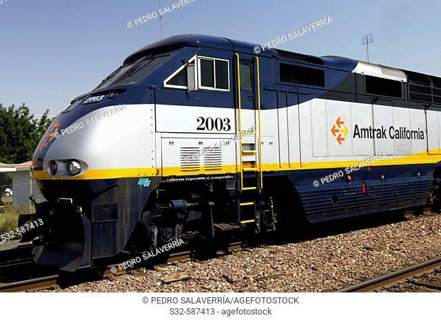 Train, Merced. California, USA