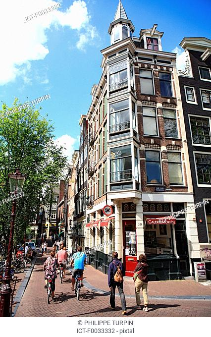 The Netherlands, North Holland, Amsterdam, building