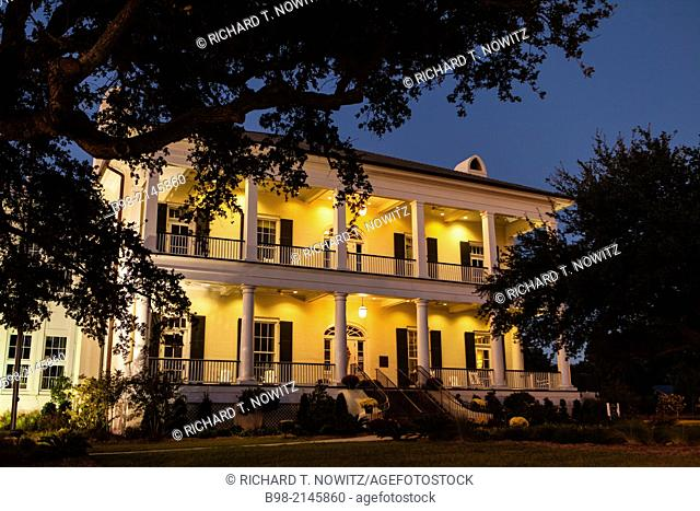 Robinson,Maloney, Dantzler House is now the tourist information site in Biloxi