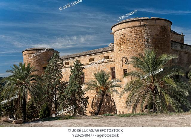Canena Castle, Canena, Jaen province, Region of Andalusia, Spain, Europe
