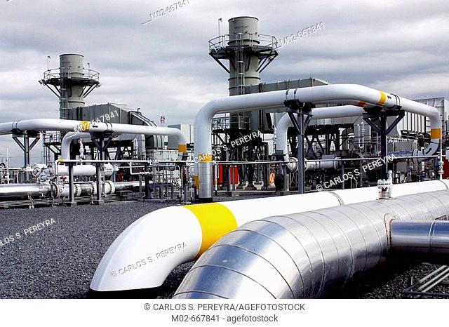 Power plant, Mexico