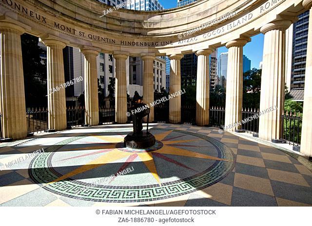 Remembrance Shrine at Anzac Square, Brisbane, QLD, Australia