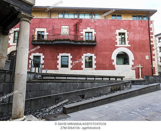 Ayuntamiento. Salvatierra. Álava, Basque Country, Spain