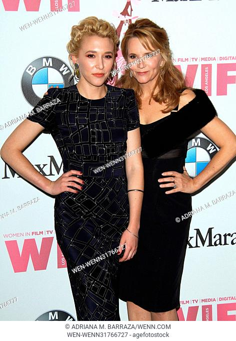 Women In Film 2017 Crystal + Lucy Awards held at The Beverly Hilton Hotel. Featuring: Kimberly Peirce, mother Lea Thompson Where: Los Angeles, California