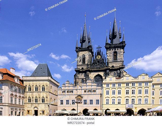 90900071, Czech Republic, Prague, Old Town Square