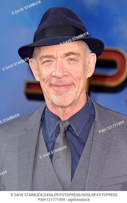 JK Simmons at the world premiere of the feature film 'Spider-Man: Far from Home' at the TCL Chinese Theater. Los Angeles, 26.06.2019 | usage worldwide
