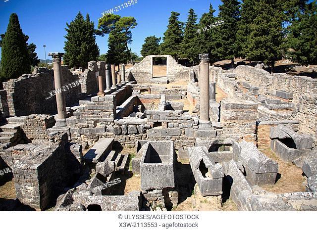 archaeological area, solin, dalmatia, croatia, europe