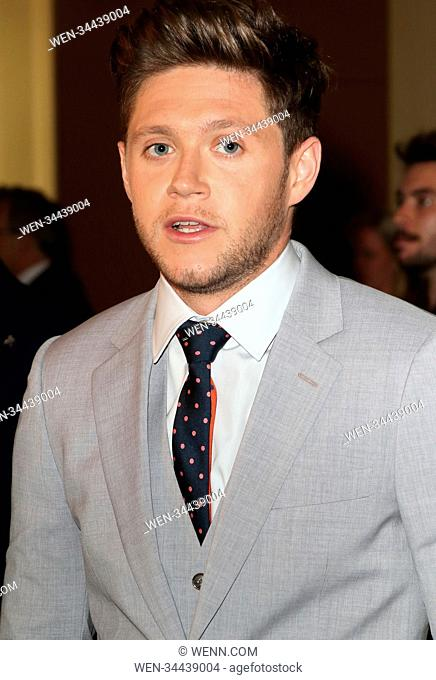 Horan & Rose Gala Dinner at The Grove Hotel, Chandler's Cross, Hertfordshire Featuring: Niall Horan Where: Chandlers Cross