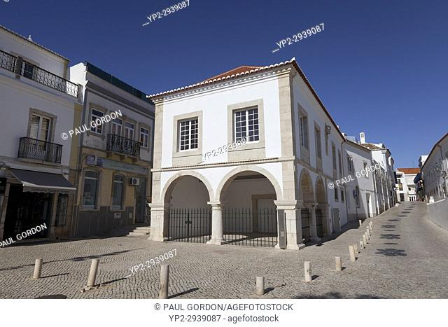 Lagos, Portugal: Slave Market Museum. Originally built in1444, Lagos'slave market is thought to be Europe's first. The existing building now containing The...