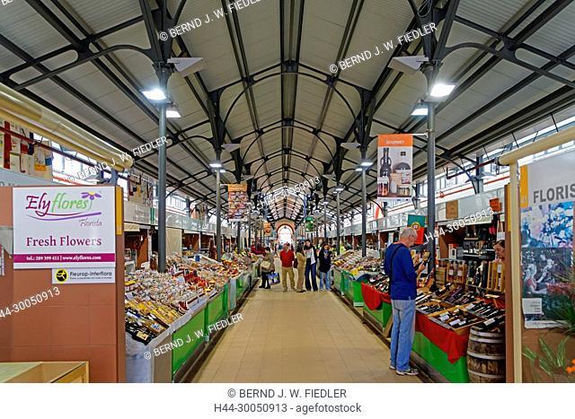Covered market, Mercado Municipal, Loulé Portugal