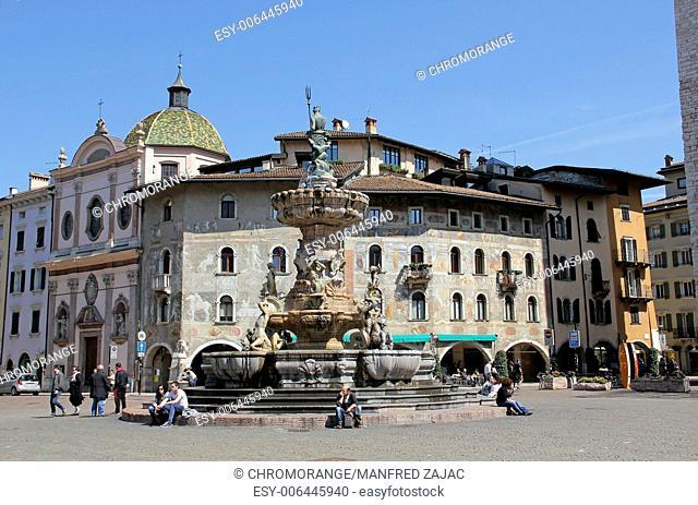 Neptune Fountain, Trento, Italy