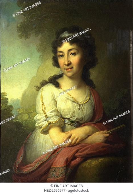 Portrait of Yekaterina Vasilyevna Torsukova, 1795. Found in the collection of the State Tretyakov Gallery, Moscow