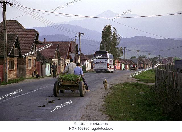 A village in eastern Romania