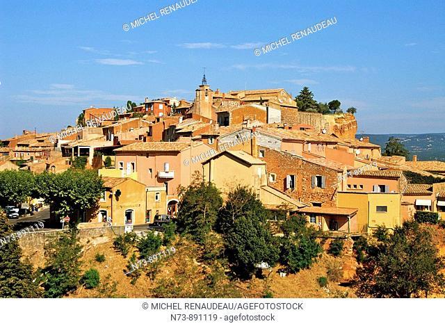 Roussillon, Vaucluse, Provence-Alpes-Côte d'Azur, France
