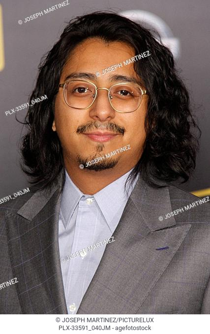 """Tony Revolori at the Premiere of Lucasfilm's """"""""Solo: A Star Wars Story"""""""" held in Hollywood, CA, May 10, 2018. Photo by Joseph Martinez / PictureLux"""