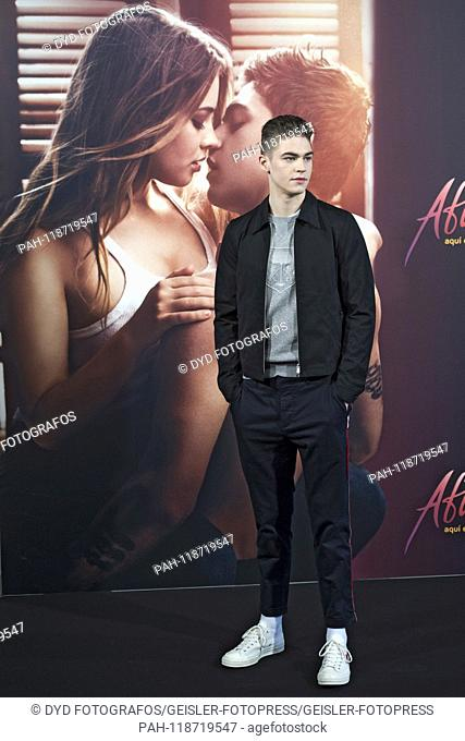 Hero Fiennes Tiffin at the Photocall for the movie 'After: Aqui empieza todo / After Passion' at the Hotel VP Plaza Espana Design. Madrid, 26.03