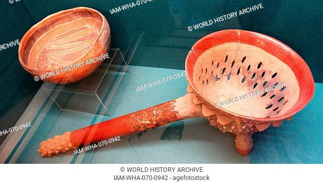 Aztec Incense burner, México, AD 1300-1520