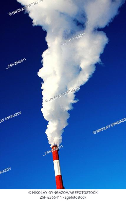 Khanty - Mansiysk Autonomous Okrug-Yugra. Emissions from combustion products