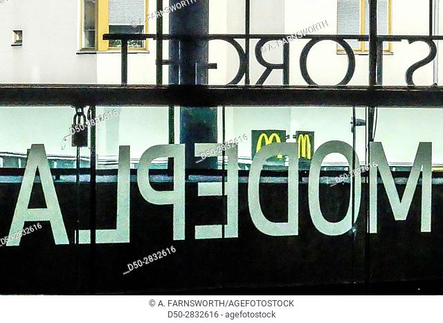 STOCKHOLM, SWEDEN Liljeholmstorget Galleria or mall