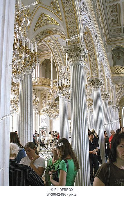 Russia, St Petersburg, winter palace Eremitage