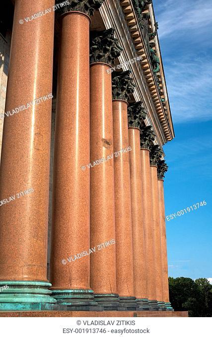 Isaac's Cathedral Pillars